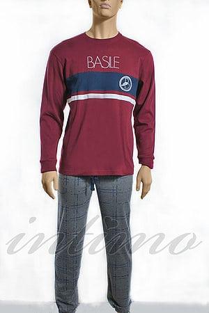 Пижама мужская, бавовна Basile, Італія BA8604 фото