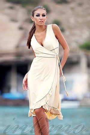 Пляжное платье, хлопок Ora, Украина 300307 фото