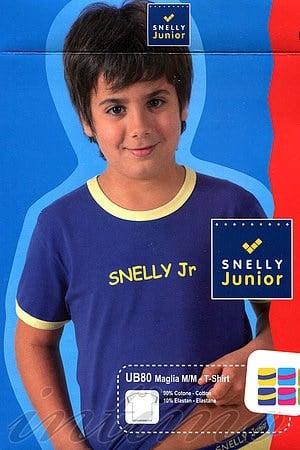 Детская футболка, хлопок Snelly, Италия UB80 фото
