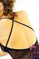 Коротенькая сорочка и трусики стринг Papillon 6911_3911 - фото №1
