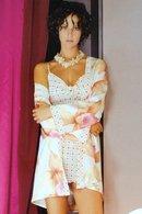 Халат, сорочка и трусики стринг Andra 1560_1564 - фото №1