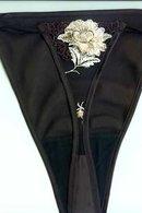 Коротенькая сорочка и трусики стринг Andra 1753 - фото №2