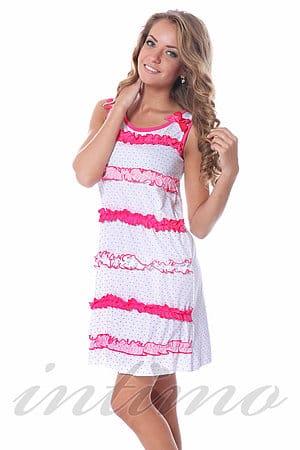 Домашнее платье, хлопок Non Solo Notte, Италия 14454 фото