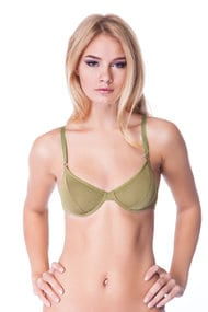 Bra with soft cups, modal