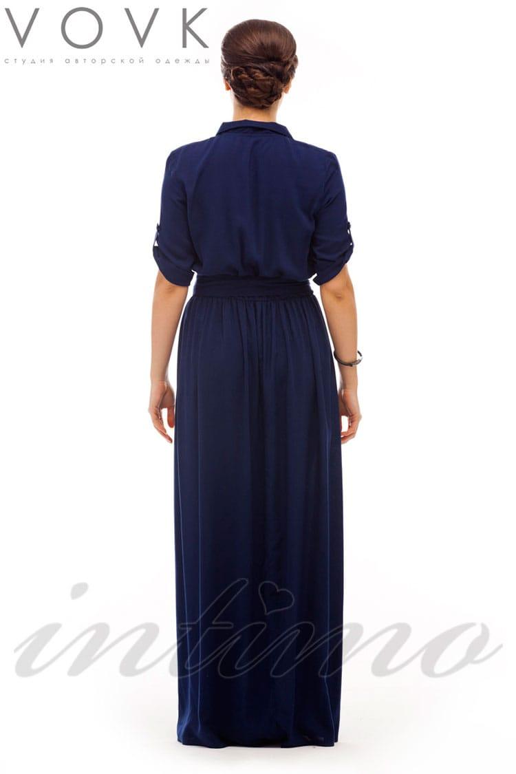... Сукня-сорочка в підлогу Vovk V446 e493356a4fa4b