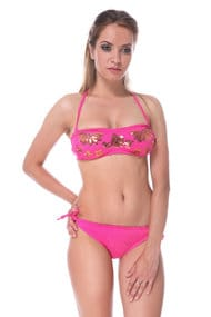 Swimsuit with compacted cup swimwear Brazilian
