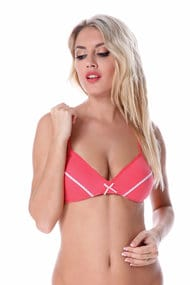 Bra with soft cups, cotton