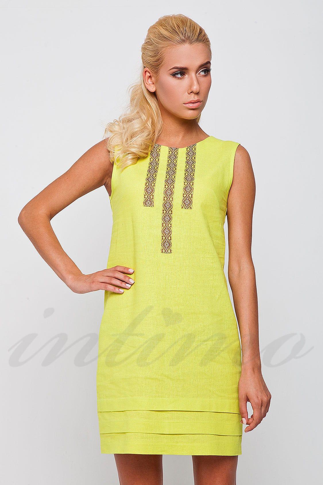 9c490ccbab93 Платье, лён Nenka N173 (35369) цена в Киеве, женская одежда купить в ...