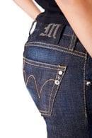 Товар с дефектом, джинсы MET, Италия D204/Г фото 3