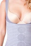 Антицеллюлитная корректирующая майка для похудения  V-CARE V-1256, 39286 - фото №1