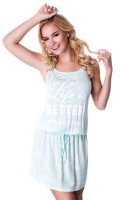 Платье домашнее, вискоза