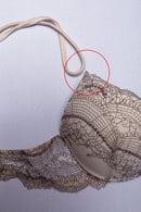 Товар с дефектом: комплект: бюстгальтер push up gel и трусики бразилиана Lormar, Италия Woman фото 8