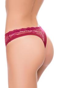 Panties string, cotton