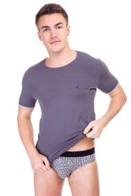 T-shirt and shorts for men slip, cotton