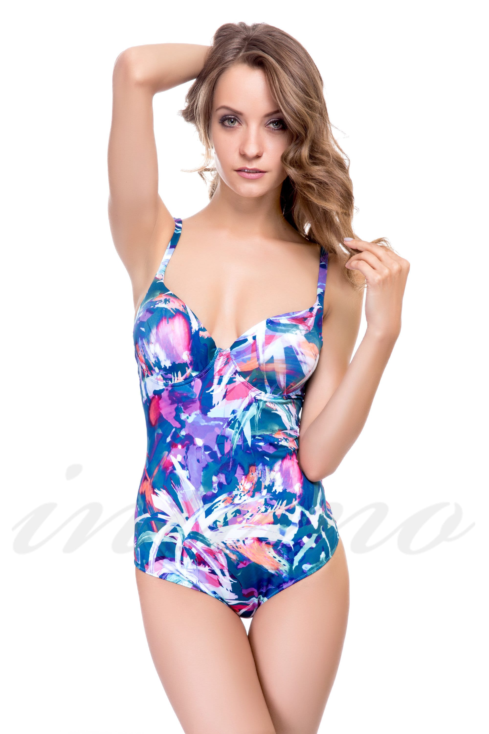 Swimsuit with tight cup Lormar Banten Intero (45308) price ...