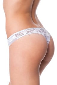 Products with defects: thong panties