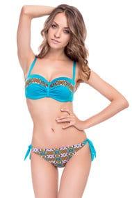 Купить купальники голубого и синего цвета в интернет-магазине Интимо