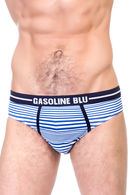 Трусы мужские слип, хлопок Gasoline-Blu, Италия U5249E фото 3