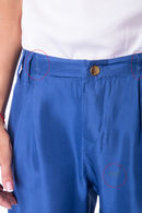 Товар с дефектом: брюки, шёлк MET S074 - фото №3