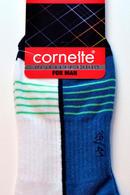 Носки мужские для спорта, хлопок Cornette Stopki-5 - фото №2
