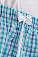 Футболка и шортики, хлопок Key LNS488A8 - фото №4