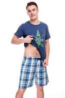 Футболка и шорты, хлопок Key MNS420A8, 51786 - фото №2
