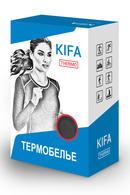 Женская термофутболка, полиэстер и вискоза Kifa ФЖ-529А, 54293 - фото №9