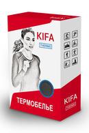 Термоджемпер женский с длинными рукавами, полиэстер и вискоза Kifa ДЖ-530, 54296 - фото №2