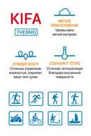 Термоджемпер женский с длинными рукавами, полиэстер и вискоза Kifa ДЖ-530, 54296 - фото №4