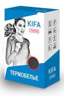 Термоджемпер женский с длинными рукавами, полиэстер и вискоза Kifa ДЖ-523А, 54325 - фото №2