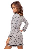 Домашнее платье, хлопок Lida 2907, 55228 - фото №1